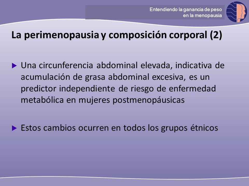 La perimenopausia y composición corporal (2)