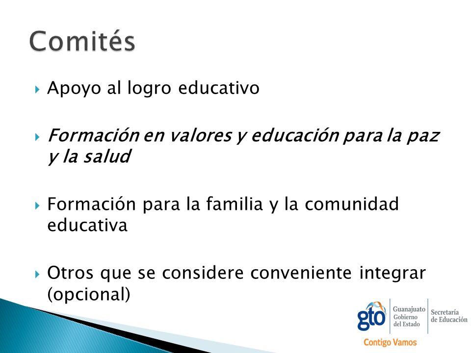 Comités Apoyo al logro educativo