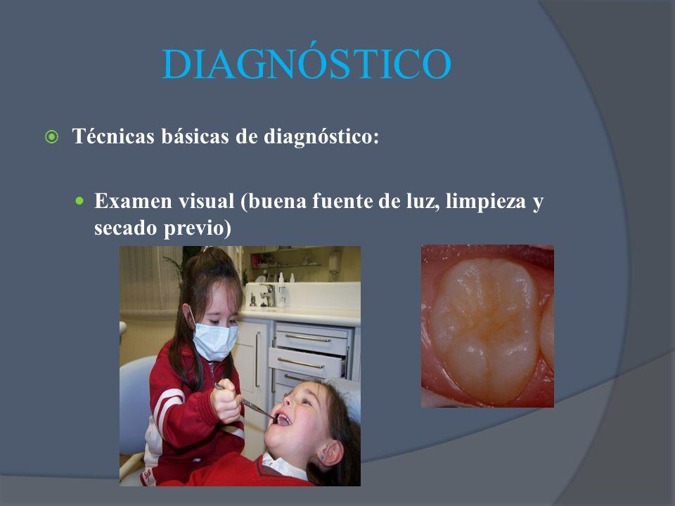 DIAGNÓSTICO Técnicas básicas de diagnóstico: