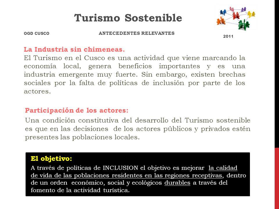 Turismo Sostenible La Industria sin chimeneas.