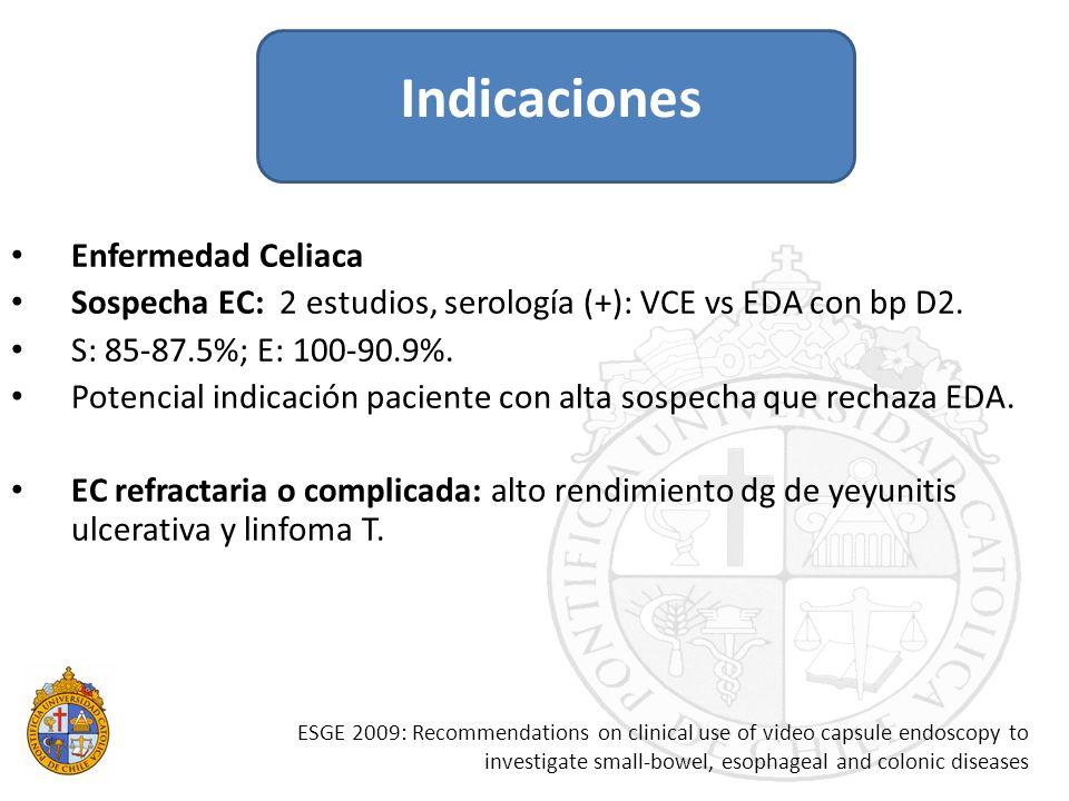 Indicaciones Enfermedad Celiaca