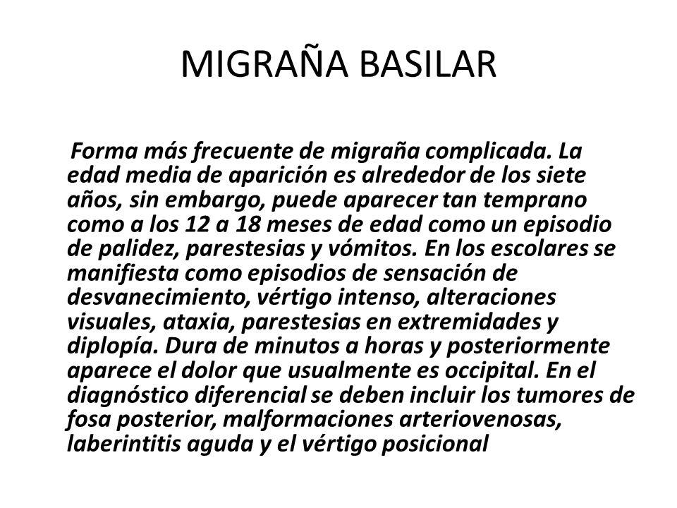 MIGRAÑA BASILAR