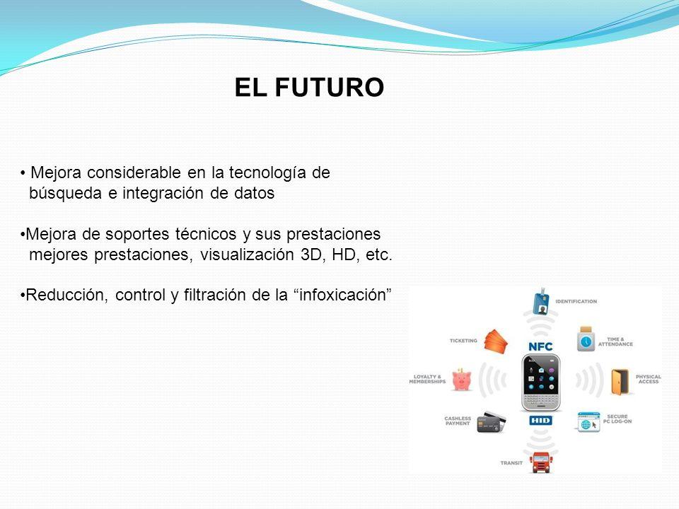 EL FUTURO Mejora considerable en la tecnología de