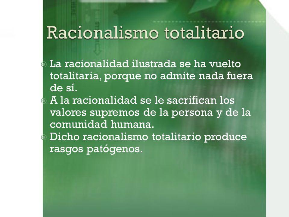 Racionalismo totalitario