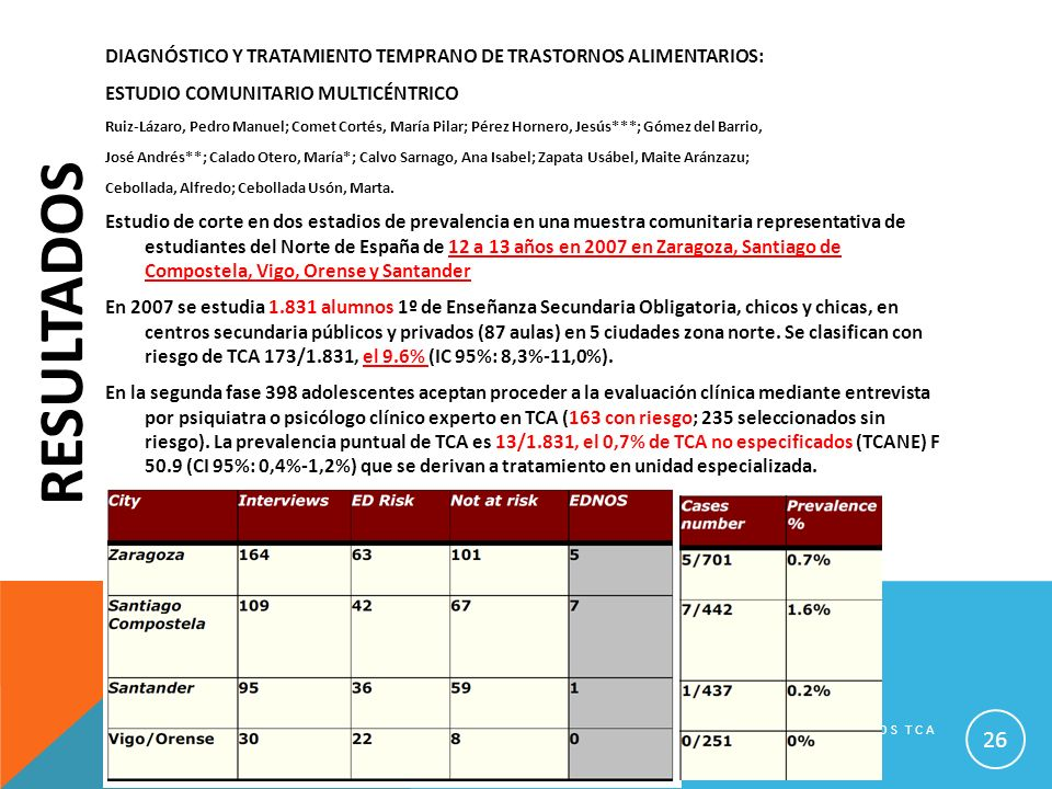 DIAGNÓSTICO Y TRATAMIENTO TEMPRANO DE TRASTORNOS ALIMENTARIOS: