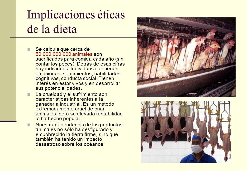 Implicaciones éticas de la dieta