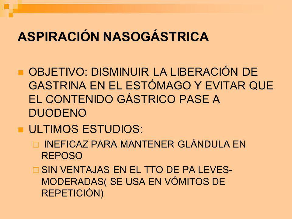 ASPIRACIÓN NASOGÁSTRICA