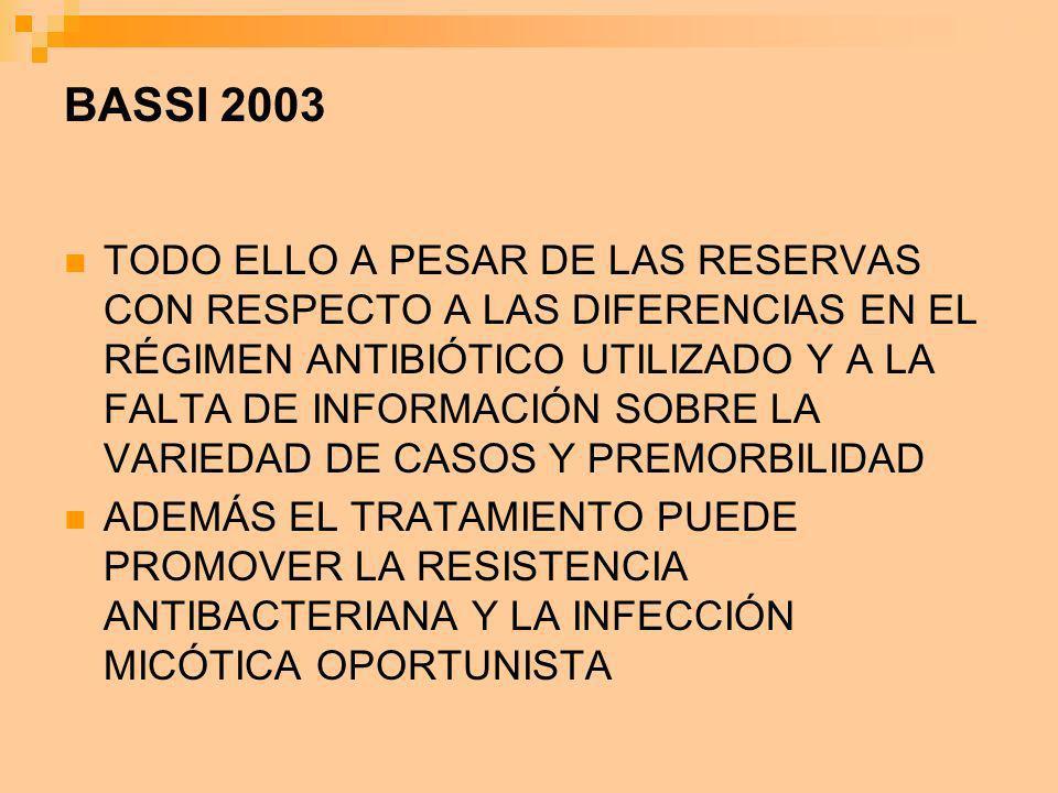 BASSI 2003