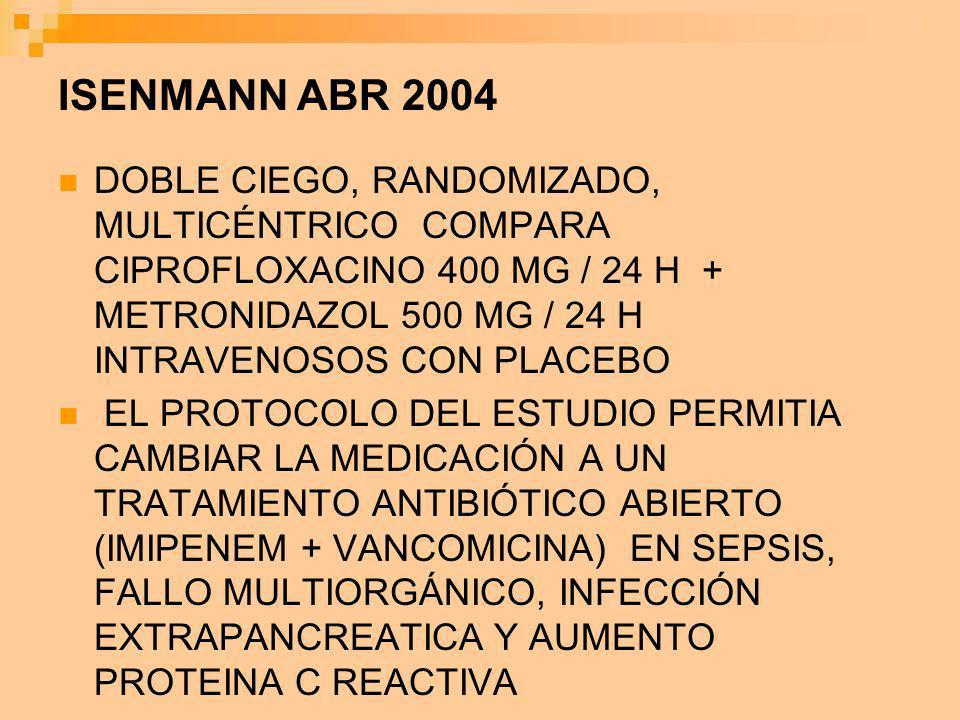 ISENMANN ABR 2004