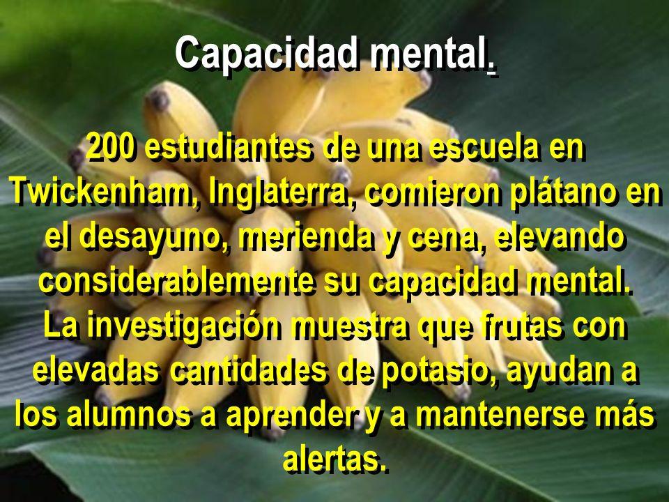 Capacidad mental.
