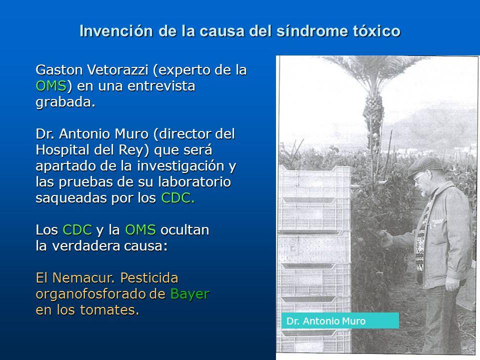 Invención de la causa del síndrome tóxico