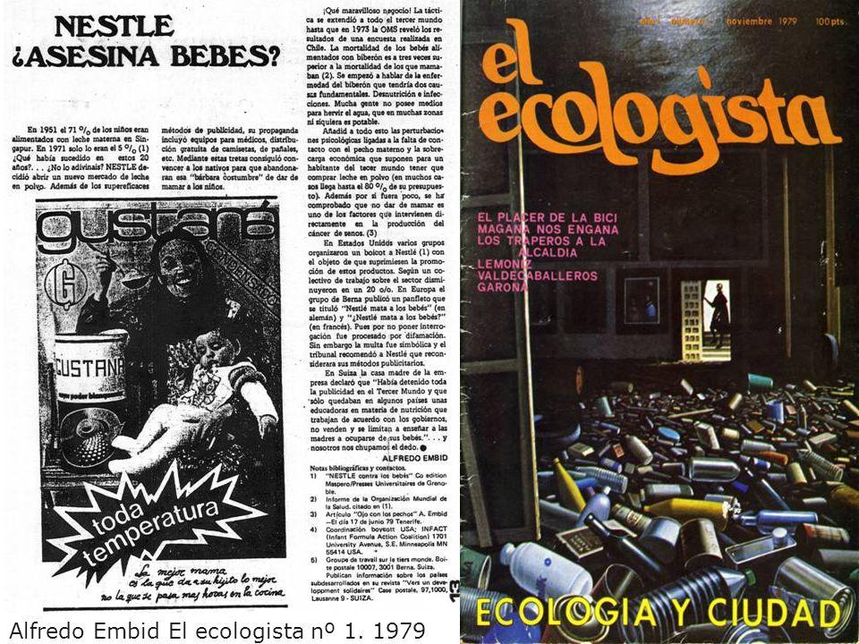 Alfredo Embid El ecologista nº 1. 1979