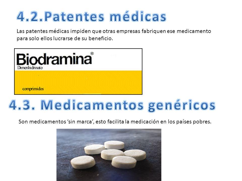 4.3. Medicamentos genéricos