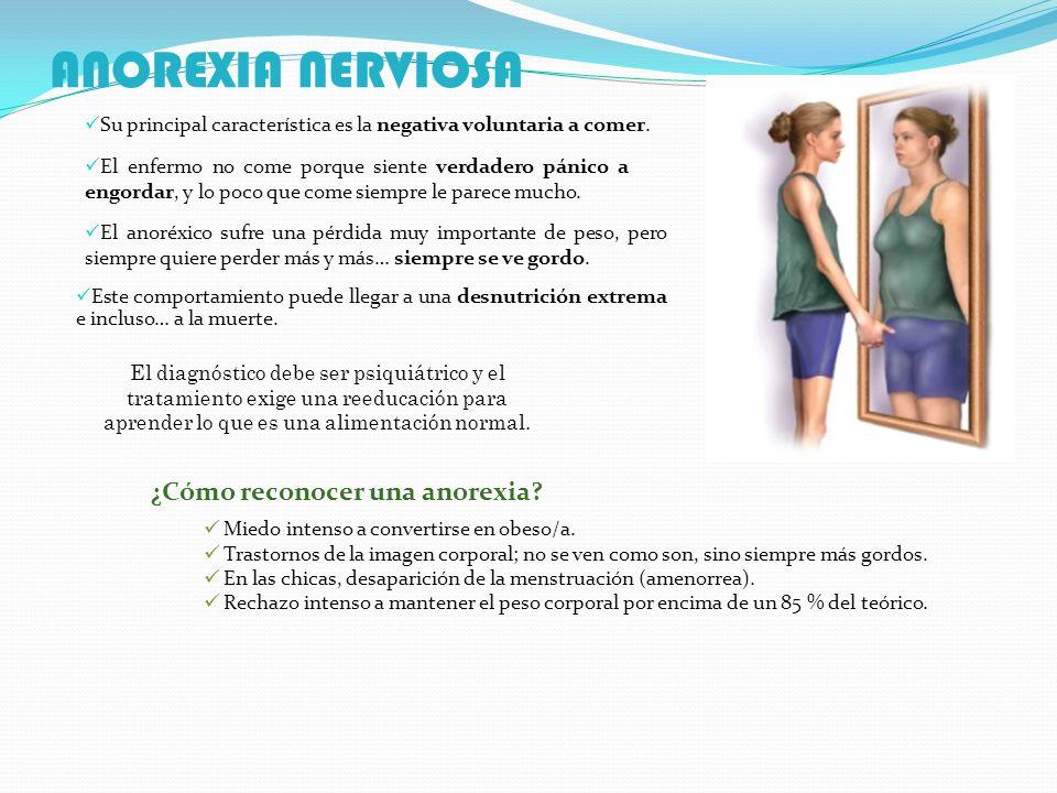 ANOREXIA NERVIOSA ¿Cómo reconocer una anorexia