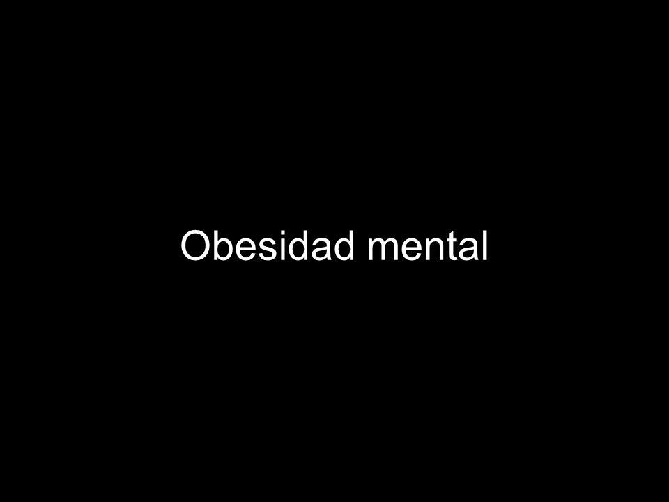 Obesidad mental