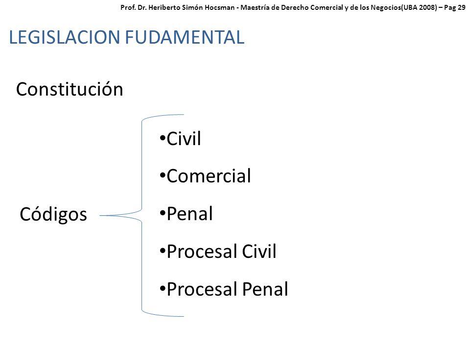LEGISLACION FUDAMENTAL
