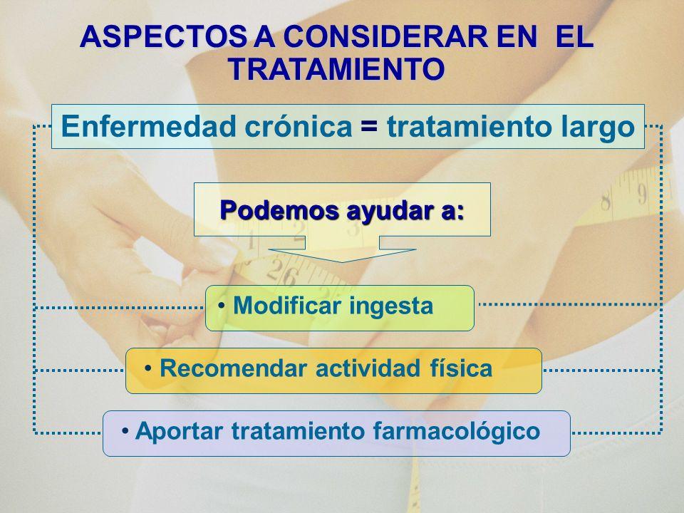 ASPECTOS A CONSIDERAR EN EL TRATAMIENTO