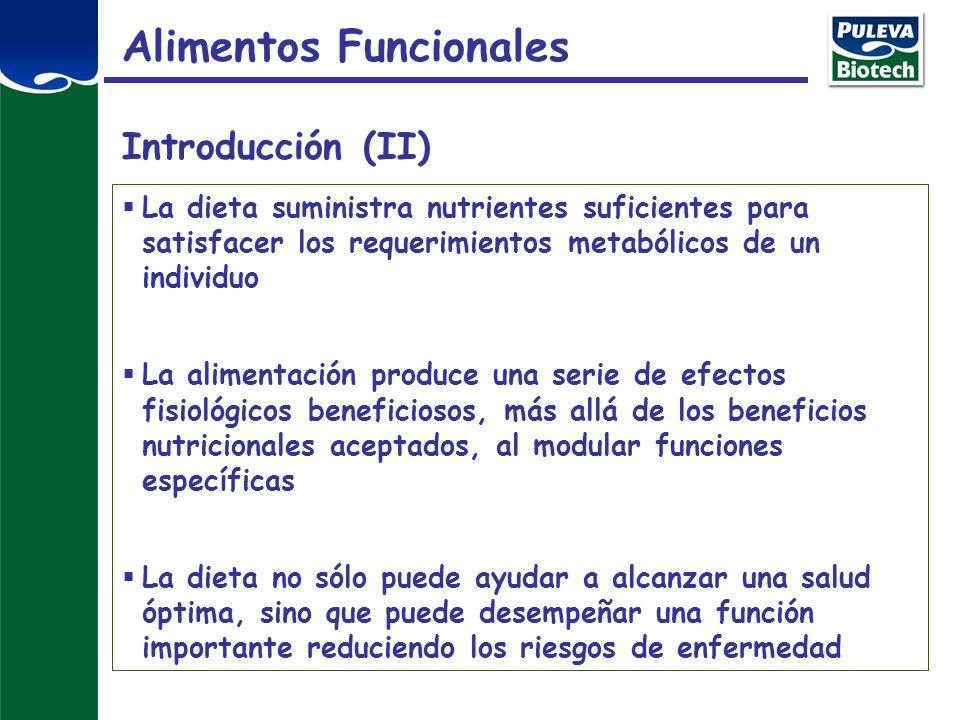Alimentos Funcionales Introducción (II)
