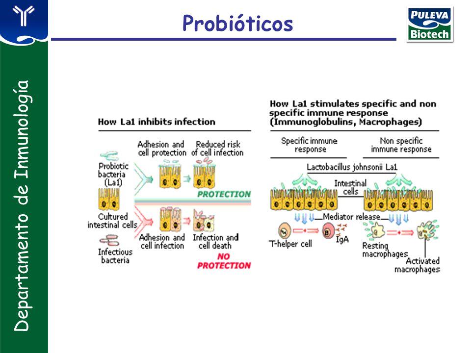 Probióticos Departamento de Inmunología