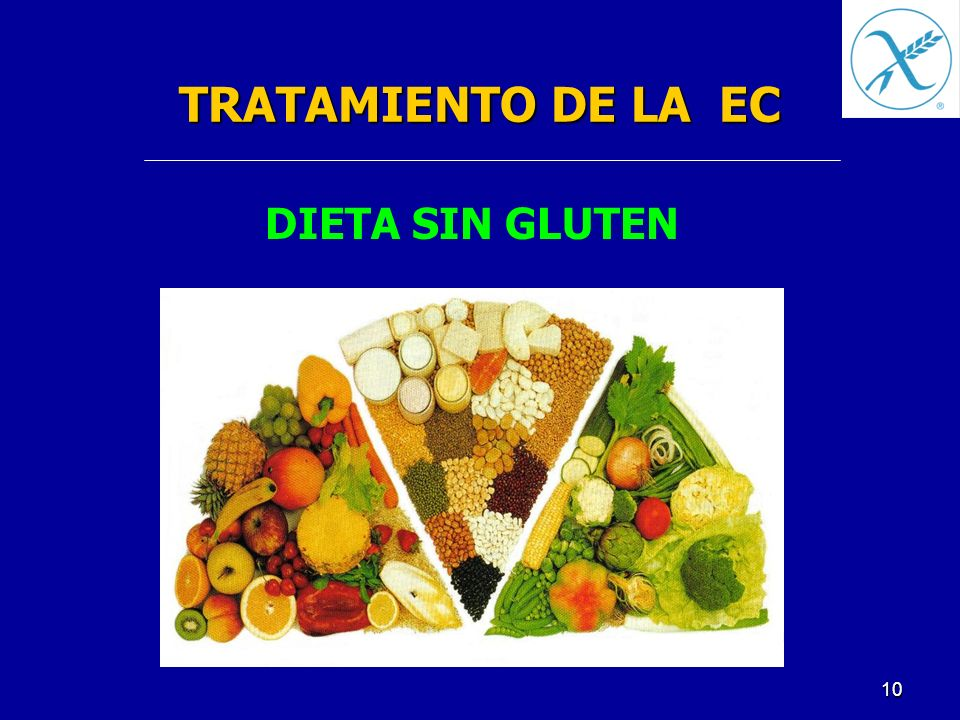 TRATAMIENTO DE LA EC DIETA SIN GLUTEN