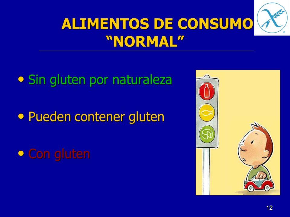 ALIMENTOS DE CONSUMO NORMAL