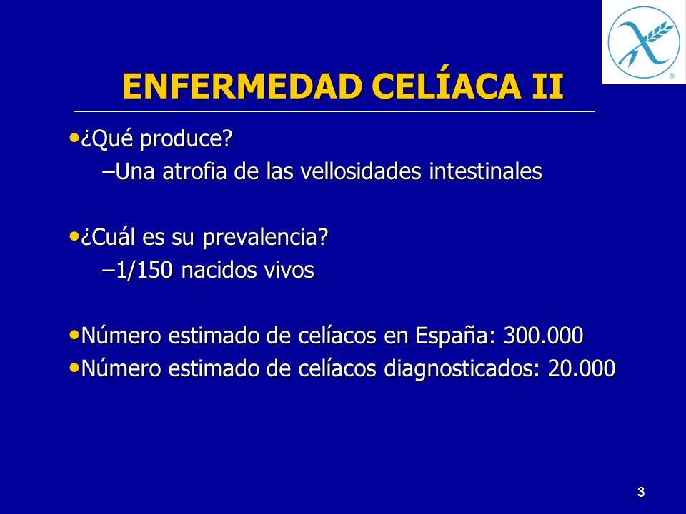 ENFERMEDAD CELÍACA II ¿Qué produce