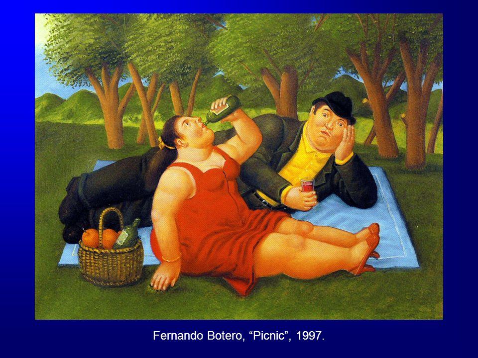 Fernando Botero, Picnic , 1997.