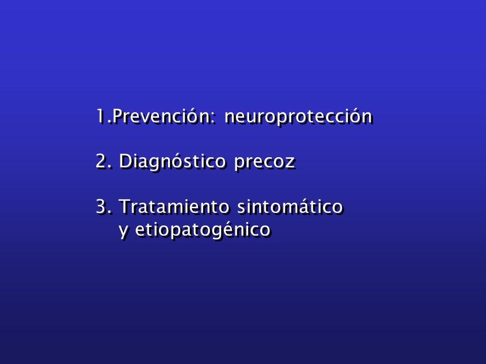 1.Prevención: neuroprotección