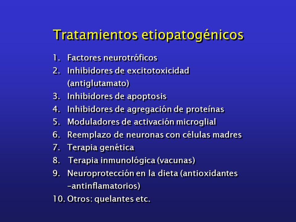 Tratamientos etiopatogénicos