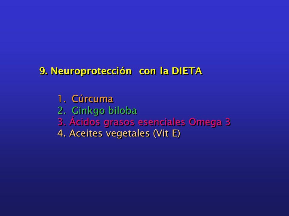 9. Neuroprotección con la DIETA