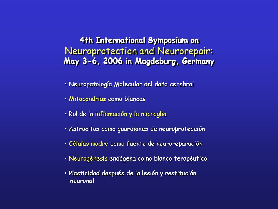 May 3-6, 2006 in Magdeburg, Germany