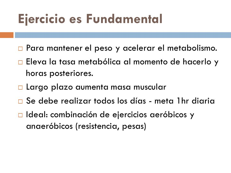Ejercicio es Fundamental