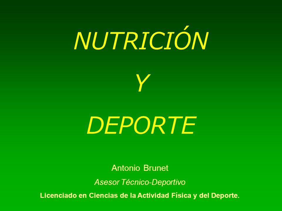 Licenciado en Ciencias de la Actividad Física y del Deporte.