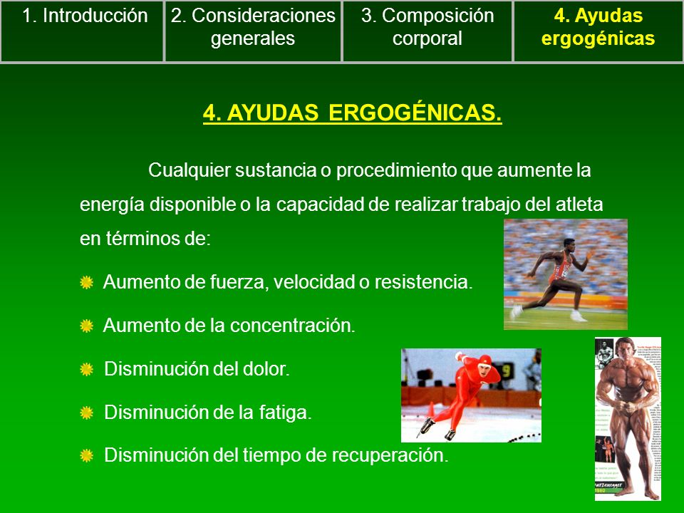 2. Consideraciones generales