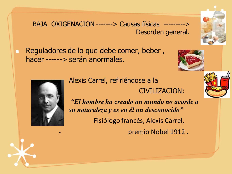 Fisiólogo francés, Alexis Carrel, premio Nobel 1912 .