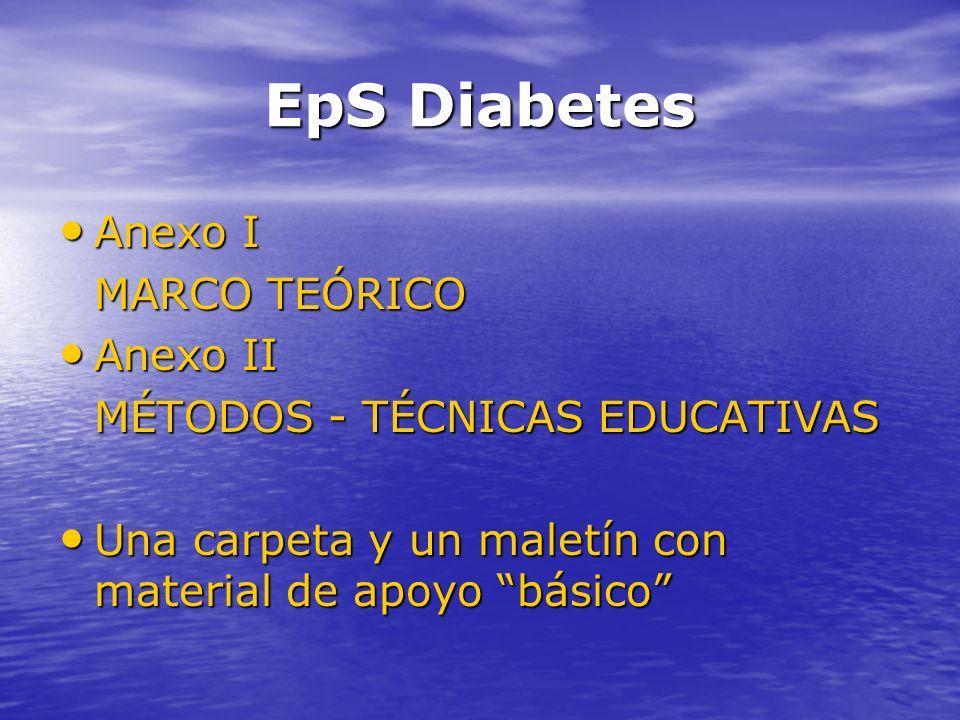 EpS Diabetes Anexo I MARCO TEÓRICO Anexo II