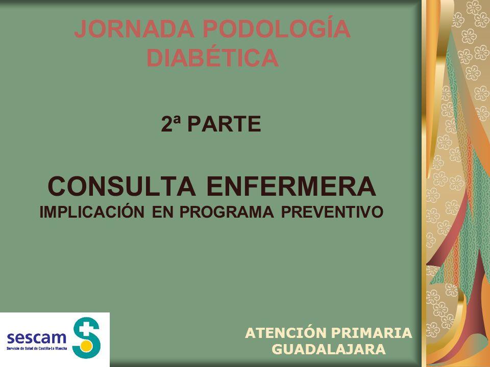 JORNADA PODOLOGÍA DIABÉTICA