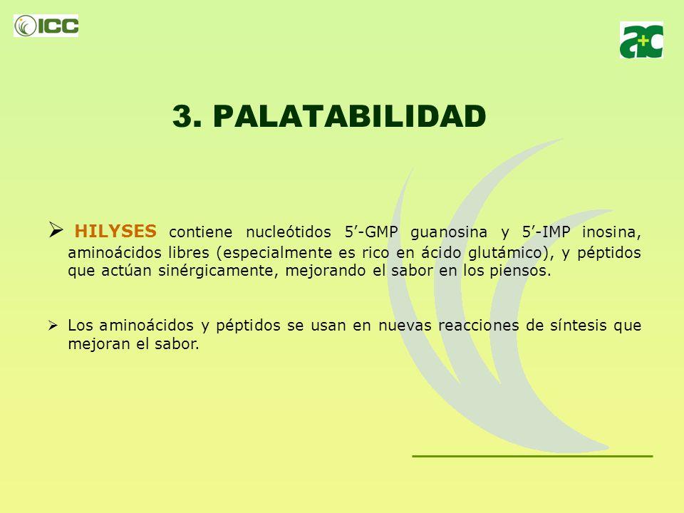 3. PALATABILIDAD