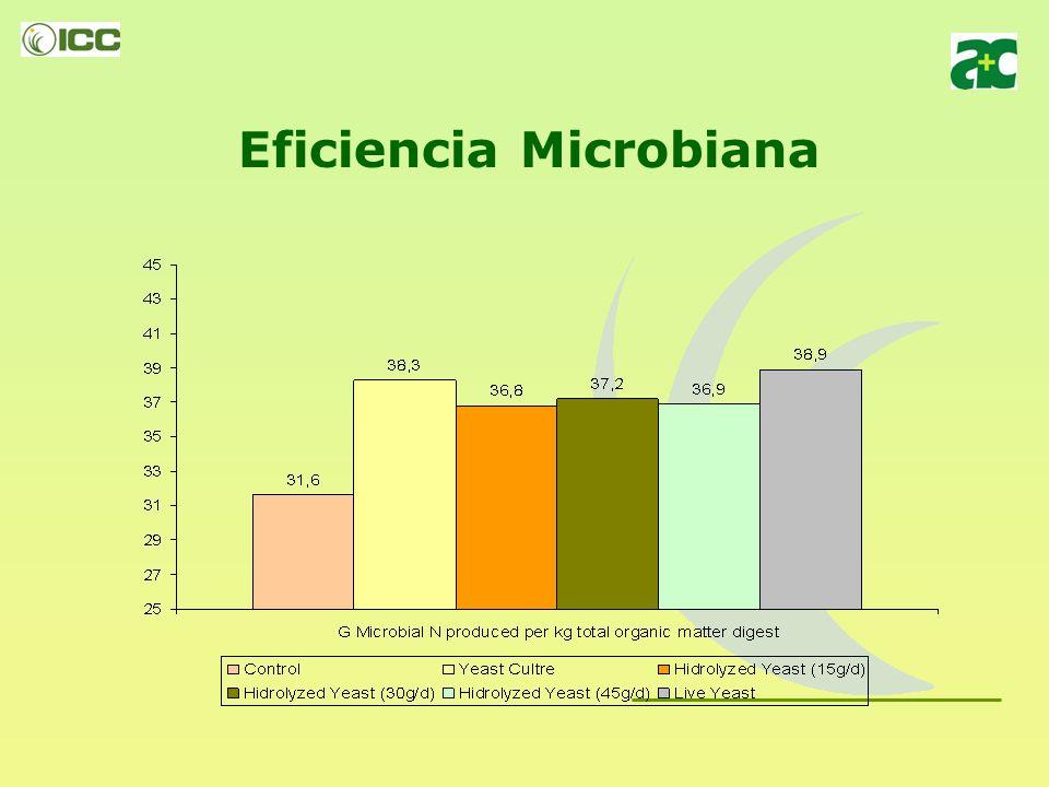 Eficiencia Microbiana