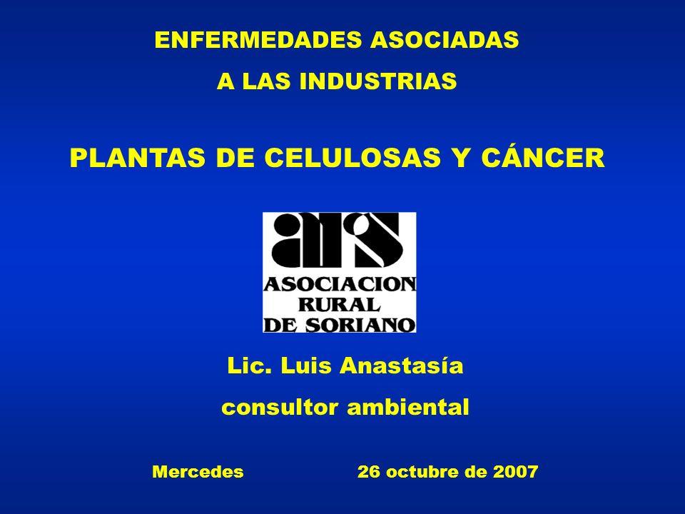 PLANTAS DE CELULOSAS Y CÁNCER