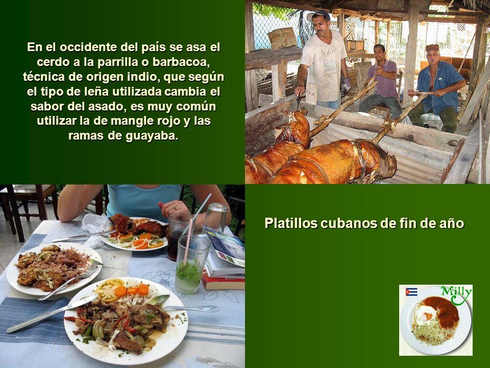 Platillos cubanos de fin de año