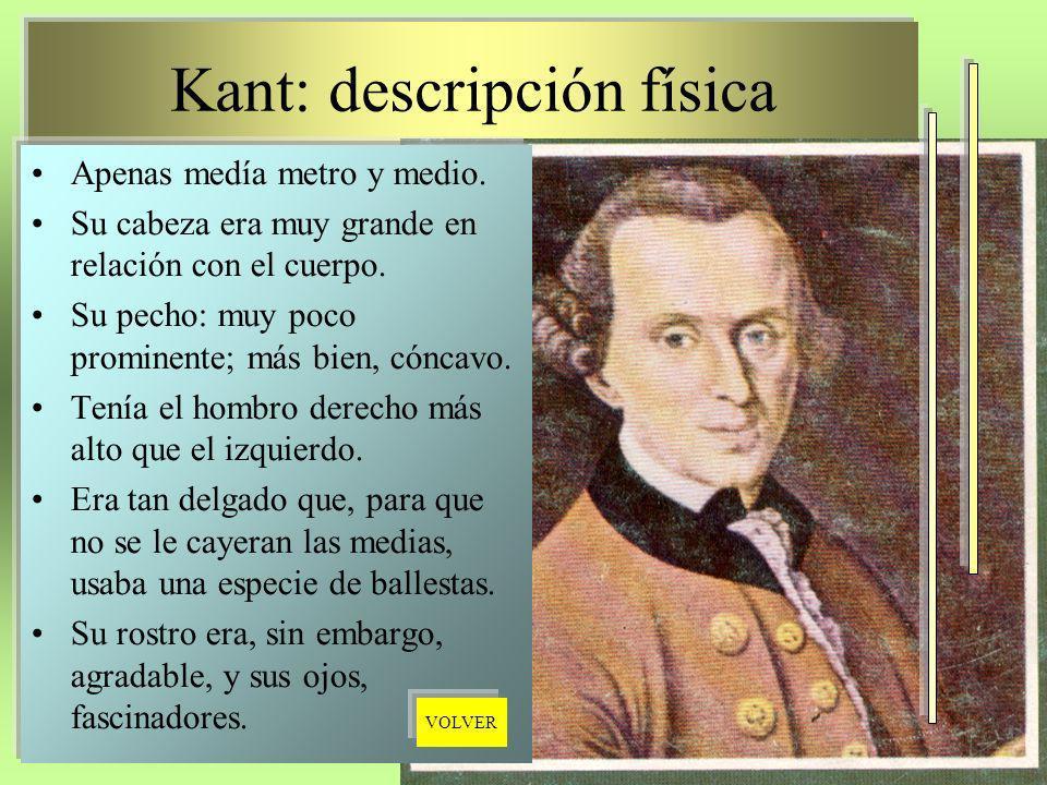 Kant: descripción física