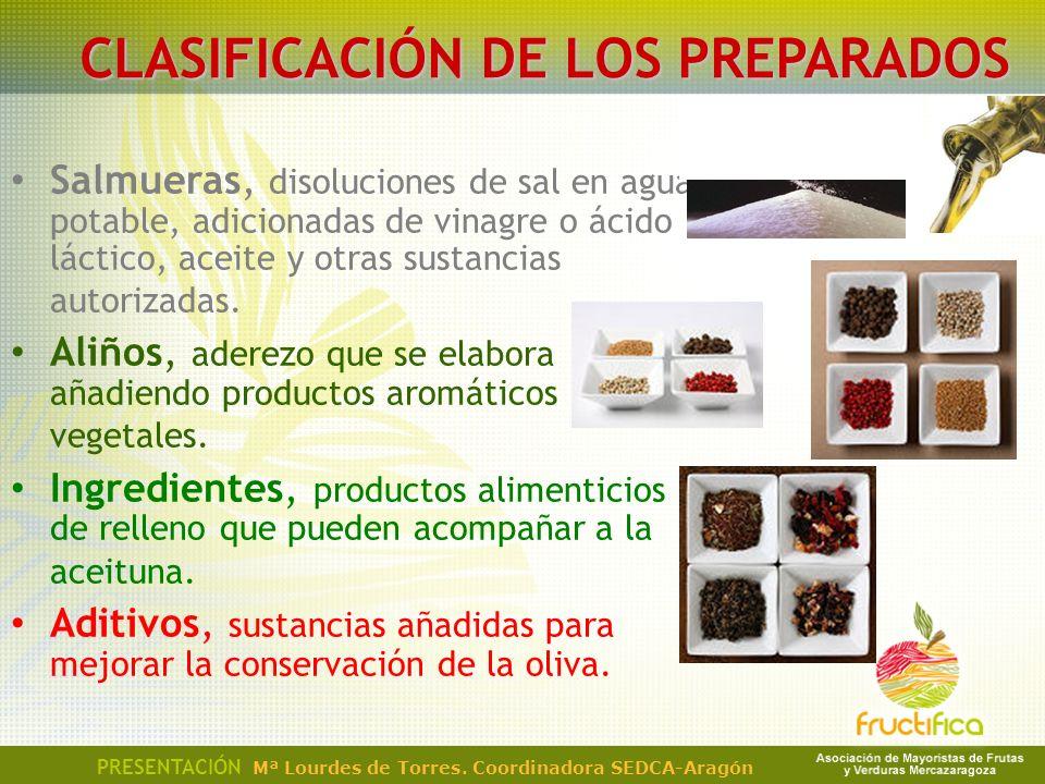 CLASIFICACIÓN DE LOS PREPARADOS