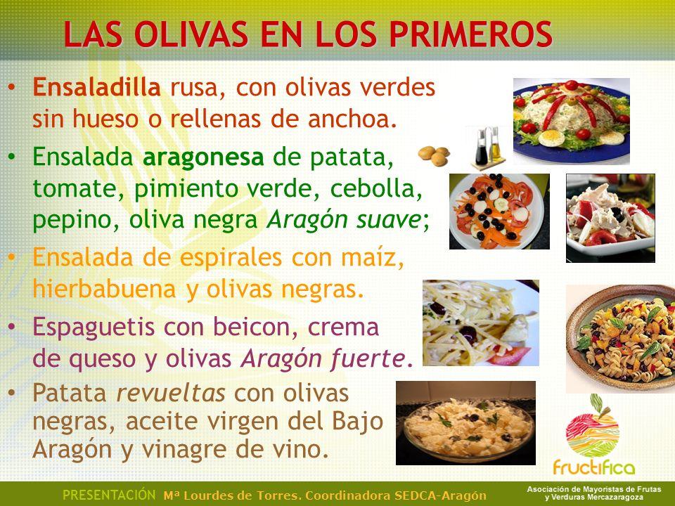 LAS OLIVAS EN LOS PRIMEROS