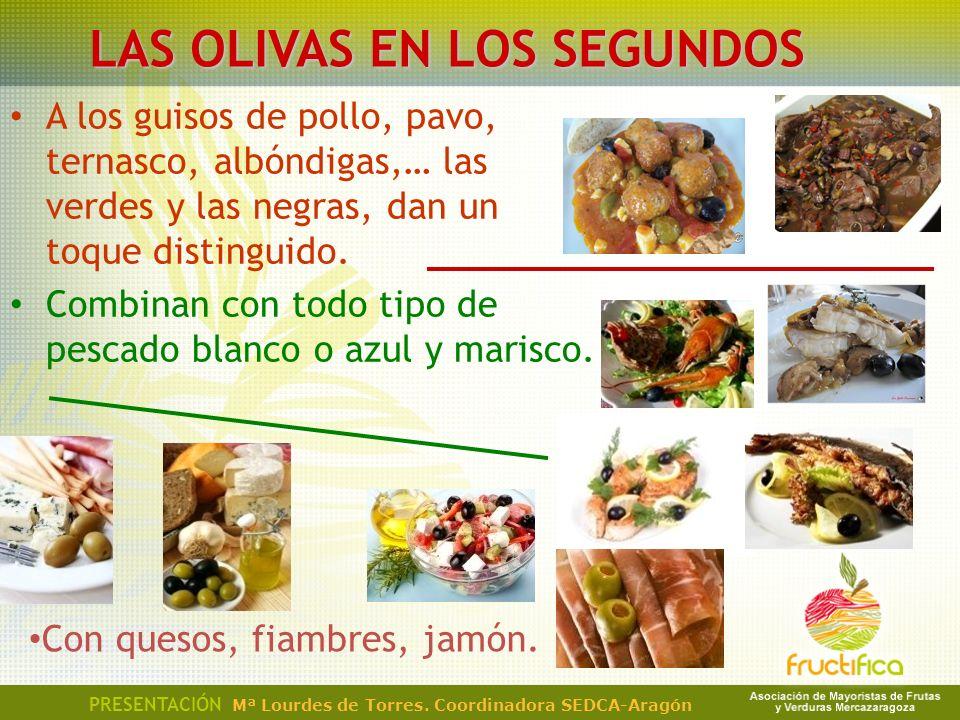 LAS OLIVAS EN LOS SEGUNDOS