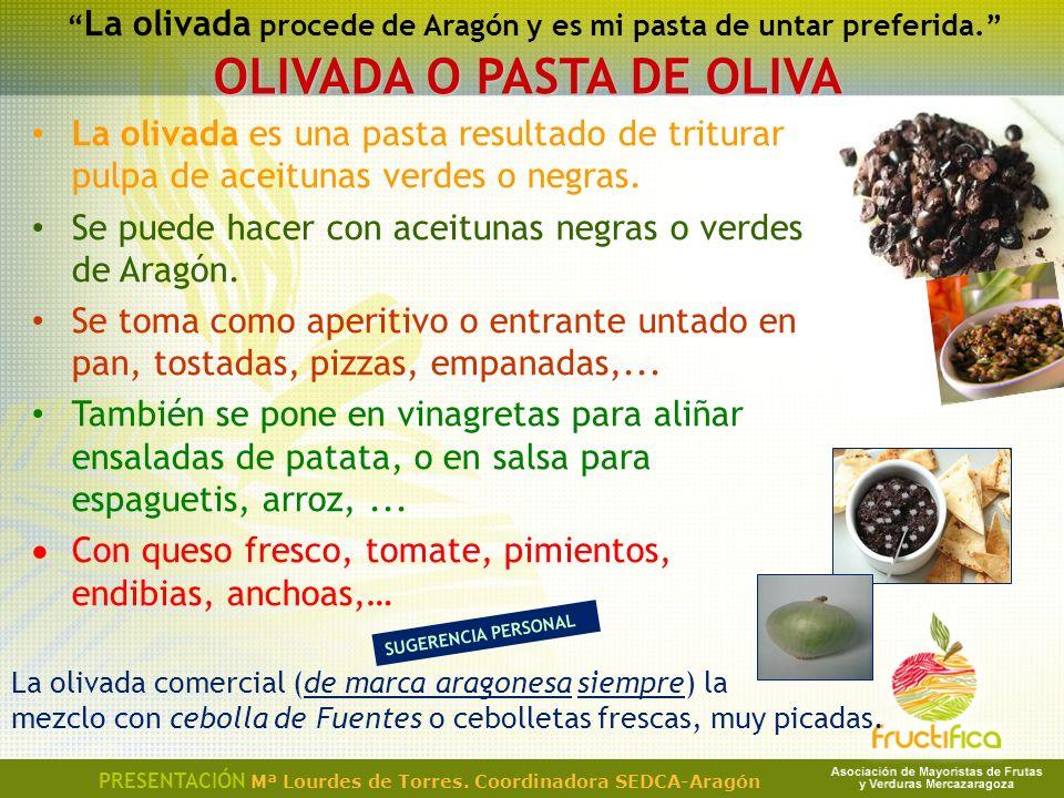 OLIVADA O PASTA DE OLIVA