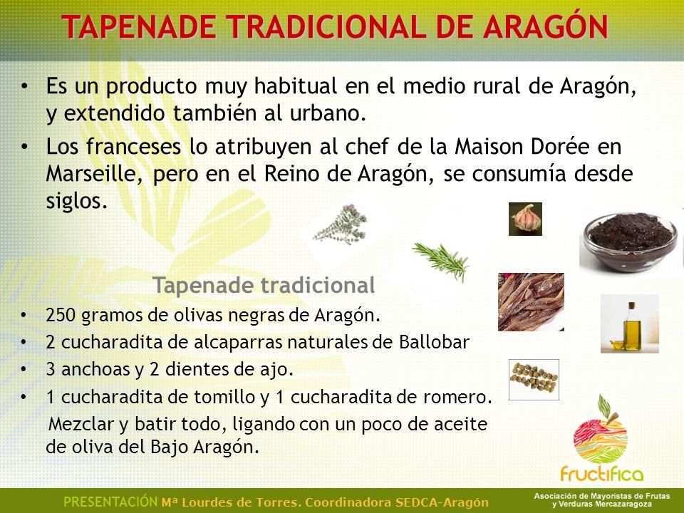 TAPENADE TRADICIONAL DE ARAGÓN