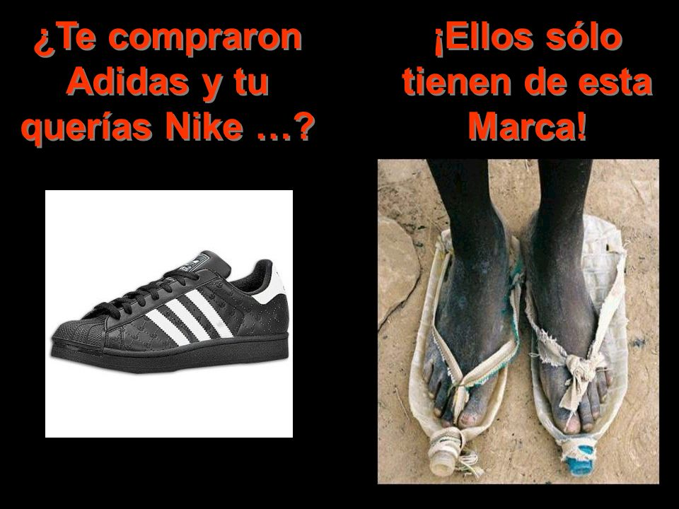 ¿Te compraron Adidas y tu querías Nike …