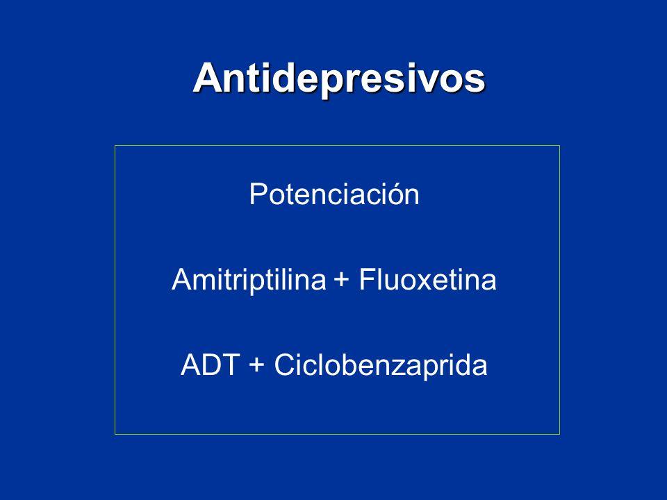 Amitriptilina + Fluoxetina