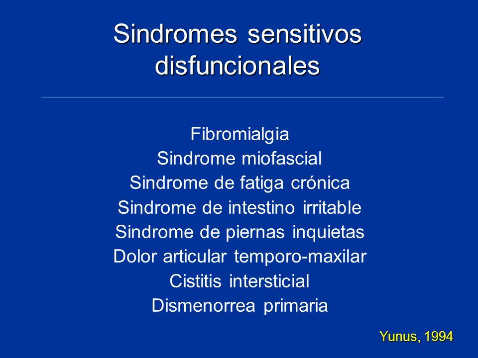 Sindromes sensitivos disfuncionales